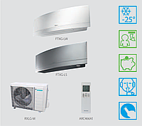 Тепловой насос воздух-воздух Daikin (6,7 кВт)  FTXG35LW/S + RXLG35M, фото 1