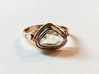 Кольцо с Драгоценным Бриллиантом Ручной Огранки