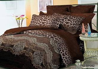 Двуспальный комплект постельного 180х220 из полиэстера Рысь