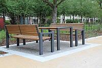 Набор: скамейка( в каталоге два вида скамеек на выбор)+ стол 7490
