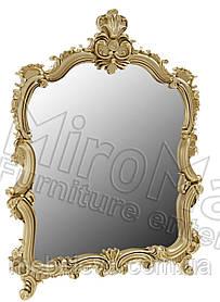 Виктория Зеркало  1180х835х50мм радика Беж  + золото   Миро-Марк