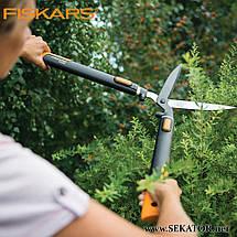 Телескопічні ножиці для кущів Fiskars / Фіскарс SmartFit 114800, фото 3