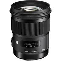 Объектив Sigma 50mm f1.4 DG HSM Art Lens for Canon EF (311101), фото 1