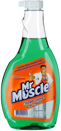 "Mr Muscle профессионал для стекол ""Утренняя роса"" (500 мл.) запаска"
