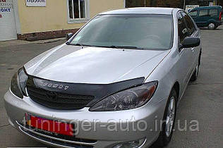 Дефлектор капота,(Мухобойка) Toyota Camry v30 2001-2006 (VIP)