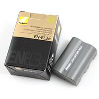 Батарея аккумулятор Nikon EN-EL3e, D100, D200, D300, D300s, D50, D70, D70s, D80, D90, DSLR D70, D700