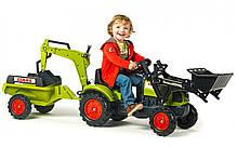 Детский трактор на педалях Falk 2040N CLAAS Arion 410, фото 3