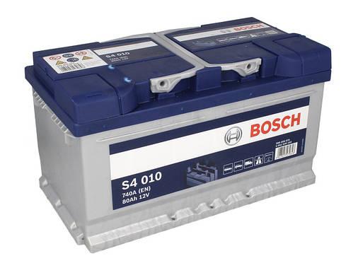 Аккумулятор Bosch S4 80Ah EN740A R+ (S4010), фото 2