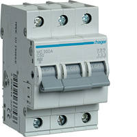 Автоматичний вимикач 3P 6kA C-50A 3M  MC350A Hager