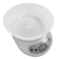 Весы кухонные Defiant DKS-502B белые