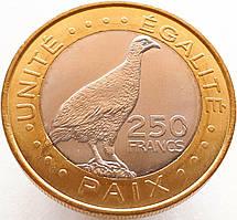 Джибути 250 франков 2012