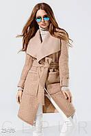 Трендовое пальто барашек. Размер S. M