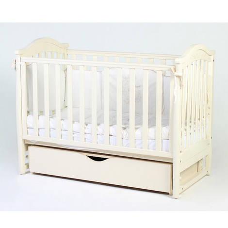 Детская кроватка Верес соня ЛД3 120*60 маятник с ящиком сл. кость