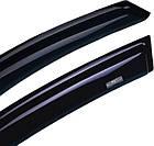 Дефлекторы окон ветровики на CITROEN Ситроен C4 2010-> HB , фото 3