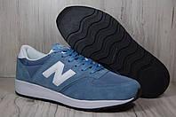 Мужские легкие кроссовки  New Balance 420 серо-голубые, фото 1