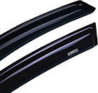 Дефлектори вікон вітровики на CITROEN Сітроен C-Elysee 2012 ->, фото 3