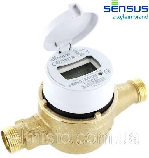 Счетчик холодной воды Sensus 640 Q3 10,0 DN 32 R160 объемный (домовой) R160 с радиомодулем RF (Германия)