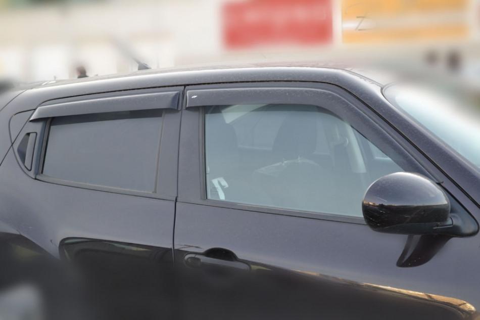 Дефлектори вікон вітровики на FIAT Фіат 500 3d -312 2007