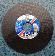 """Абразивный отрезной круг, диск по нержавеющей стали  на ушм """"болгарку"""" sg-elastic inox Pferd 125x1x22 Германия"""
