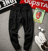 Штаны на манжетах с боковыми карманами Карго Dustbin