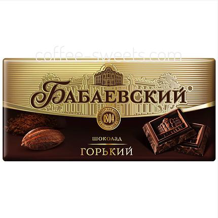 Шоколад Бабаевский горький 100г, фото 2