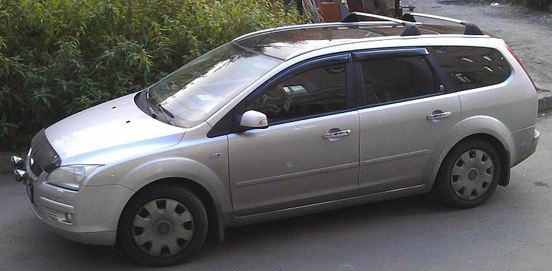 Дефлектори вікон вітровики на FORD Ford FOCUS II Wagon 2004-2011