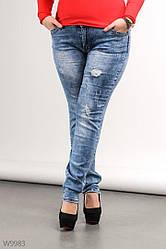 Джинсы женские молодежные XL