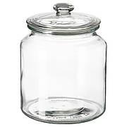 ВАРДАГЕН Банка с крышкой, прозрачное стекло, 1.9 л 00291928 IKEA, ИКЕА, VARDAGEN