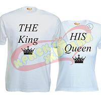 Парные футболки The King_The Queen