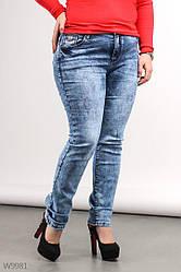 Джинсы женские варенки XL