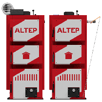 Твердотопливный котел ALtep CLASSIC PLUS 24 кВт, фото 3