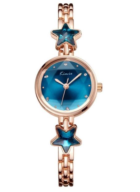 Женские часы Kimio K6201 Gold Blue