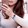 Женские часы Kimio K6201 Gold Blue, фото 2