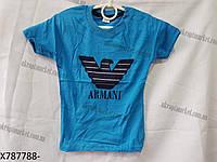 """Детская футболка на мальчика (1-8 лет) """"Ahmad-1"""" купить оптом со склада LM-5546"""