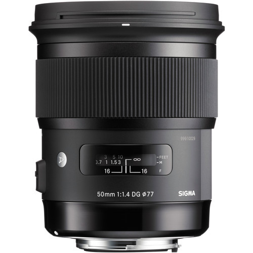 Объектив Sigma 50mm f1.4 DG HSM Art Lens for Sony A (311205)
