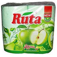 """Туалетний папір """"Ruta"""" Зелений 2шар 4шт/-842/16"""