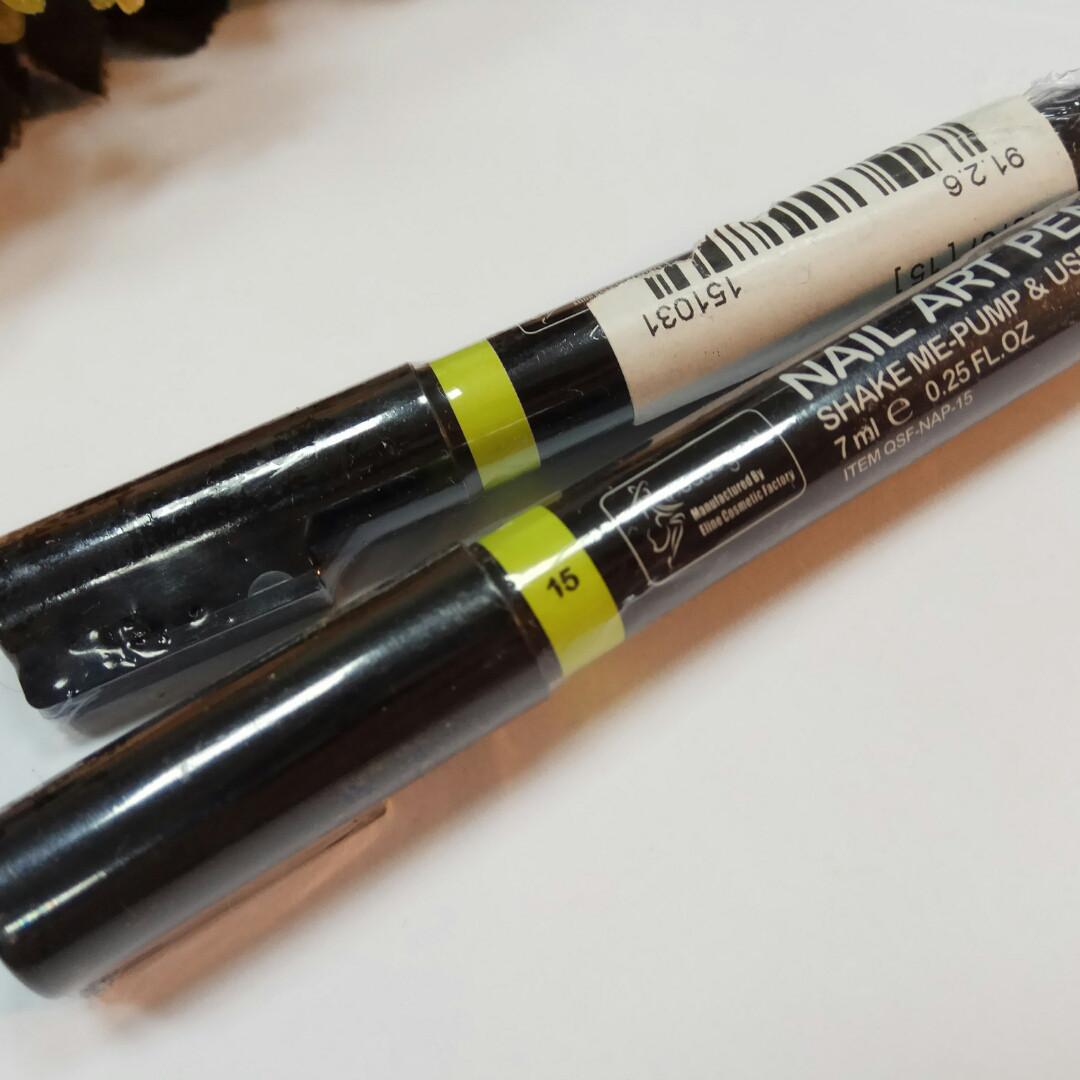 Карандаш маркер для ногтей салатовый 15