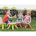 Стульчик со спинкой детский зеленый Smoby 880105, фото 6