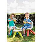 Стульчик со спинкой детский зеленый Smoby 880105, фото 7