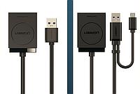 Кардридер Ugreen Mini USB 3.0 SD Micro SD TF OTG для Samsung карты памяти Kingston reader адаптер