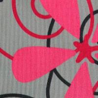 Рулонные шторы ткань Цветы 5236-3