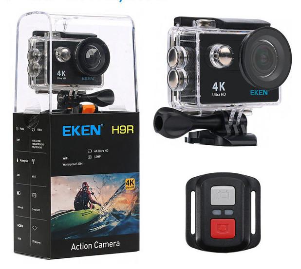 Экшн камера EKEN H9R V2.0 ULTRA HD 4K WI-FI + Пульт