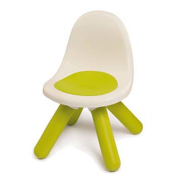 Дитячий стільчик зі спинкою зелений Smoby 880105