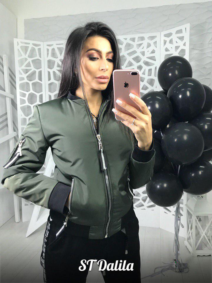 Классная куртка плащевка на утеплителе Dalila