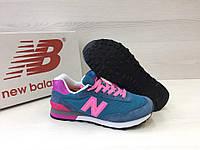 Кроссовки женские New Balance 515 код товара 4S-1047 материал - замша,подошва - пена. Бирюзовые