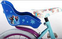 Велосипедное седло детское 4-6 лет Disney Frozen Anna Elsa