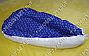 Детский кокон позиционер для новорожденных (синие расцветки)