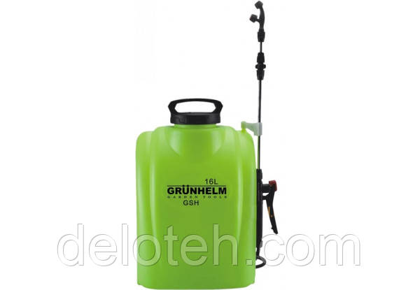 Опрыскиватель GRUNHELM GHS-16 (акамул.,5,5кг,об.16л.,роб.тыск 3Bar)