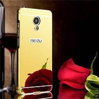 Металлический зеркальный чехол для Meizu M5 Note (4 Цвета)