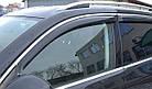 Дефлекторы окон ветровики на LEXUS Лексус NX 2014 -> С Хром Молдингом , фото 2